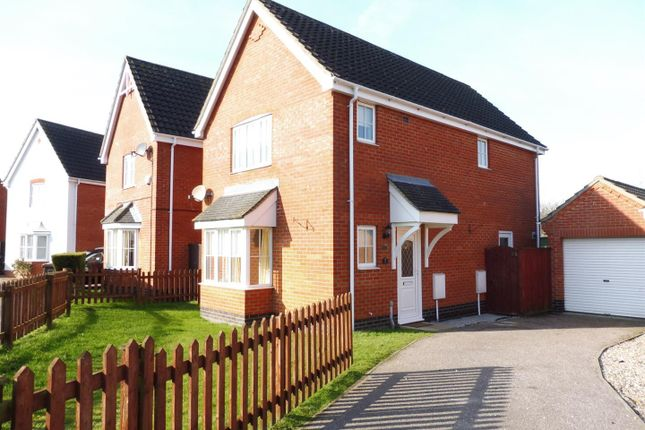 Thumbnail Detached house to rent in Angel Drive, North Walsham