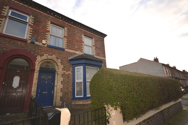 Thumbnail End terrace house for sale in Elm Road, Seaforth, Liverpool