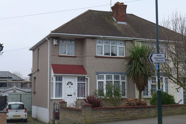 Thumbnail Semi-detached house to rent in Edison Road, Welling