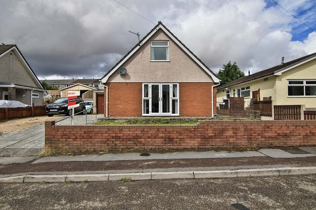 Thumbnail Detached bungalow for sale in Coed Cae, Rassau, Ebbw Vale