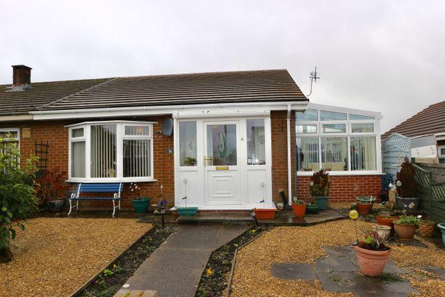 Thumbnail Semi-detached bungalow for sale in St Fagons Grove, Castle Park, Merthyr Tydfil