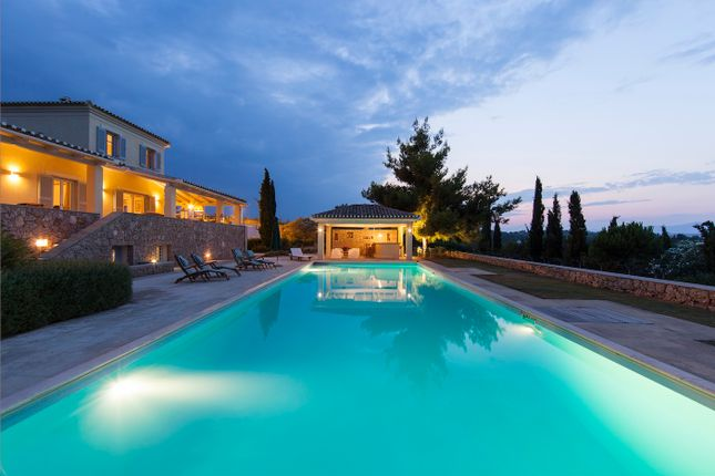 5 bed villa for sale in Villa Irene, Top Quality Rustic Style Villa In Porto Heli, Greece
