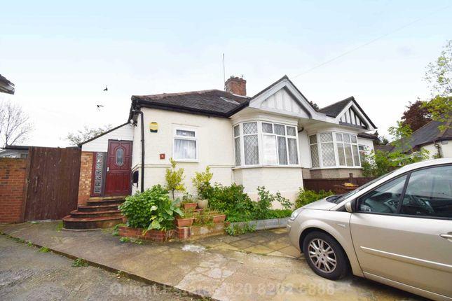 Thumbnail Semi-detached bungalow for sale in Gordon Gardens, Burnt Oak, Edgware