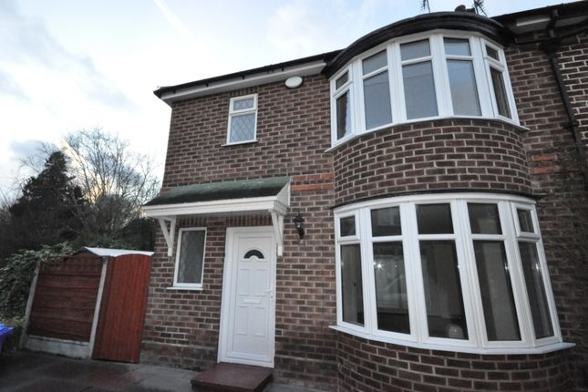 Thumbnail Semi-detached house to rent in Oakdale Drive, Didsbury, Manchester