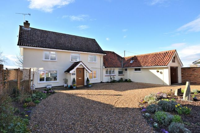 Thumbnail Detached house for sale in Beech Crescent, West Winch, King's Lynn