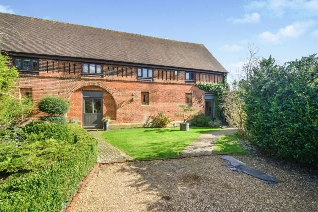 Thumbnail Barn conversion for sale in Church Hill, Pyrford, Woking