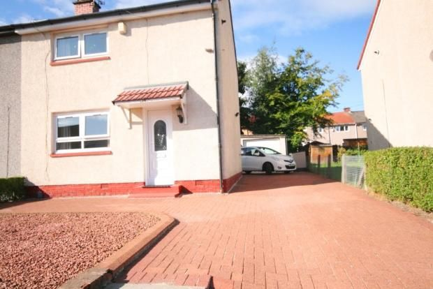 Thumbnail End terrace house for sale in Yew Place, Johnstone