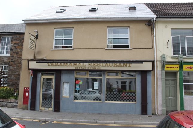 Thumbnail Restaurant/cafe for sale in 8 Church Street, Ebbw Vale, Blaenau Gwent