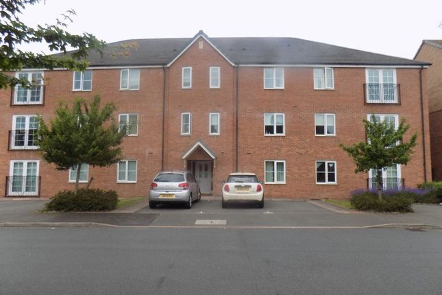 Thumbnail Flat to rent in Forge Close, Churchbridge, Cannock