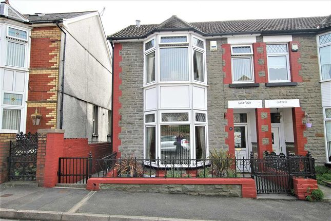 Thumbnail Semi-detached house for sale in Vaynor Street, Glen View House, Porth