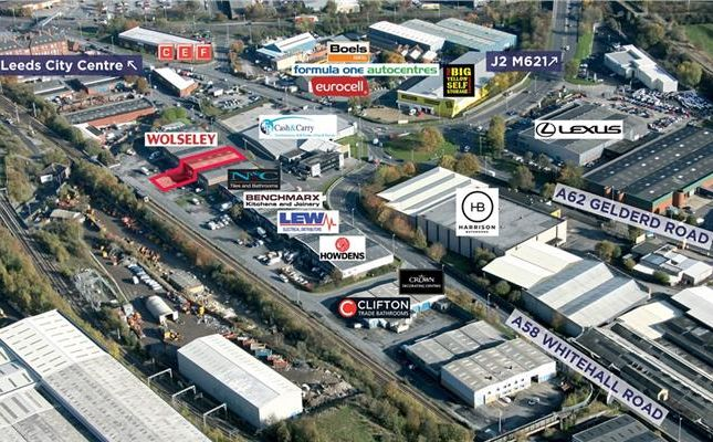 Thumbnail Light industrial to let in Unit F2, Copley Hill Trading Estate, Whitehall Road, Leeds, West Yorkshire