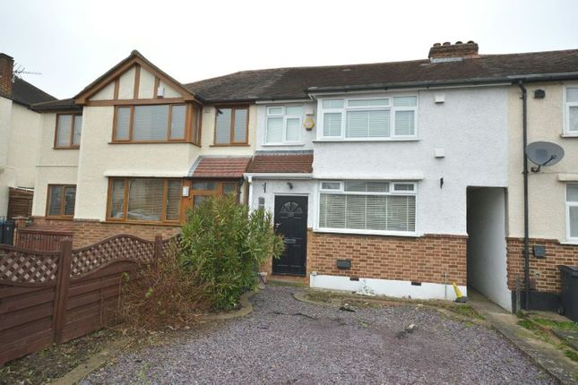 Thumbnail Terraced house to rent in Bridge Road, Chessington
