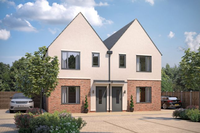 2 bed semi-detached house for sale in Chambers Green, Needham Market IP6