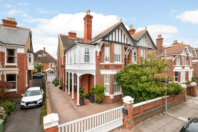 Thumbnail Semi-detached house for sale in Brading Avenue, Southsea