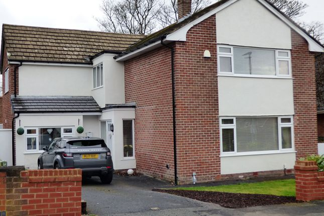 Thumbnail Detached house for sale in Villiers Crescent, Eccleston