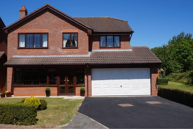 Thumbnail Detached house for sale in Donnerville Close, Wellington Telford
