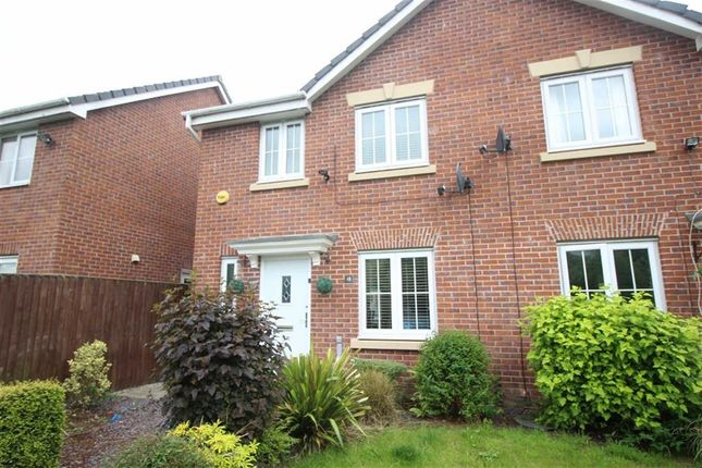 Thumbnail Semi-detached house for sale in Vale Gardens, Springview, Wigan