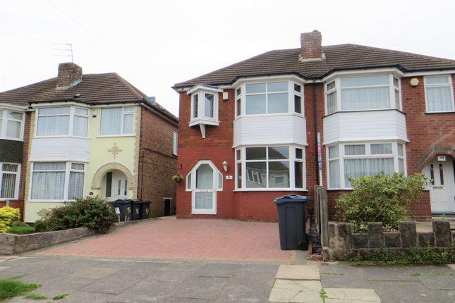 3 bed semi-detached house to rent in Dowar Road, Rednal, Birmingham B45