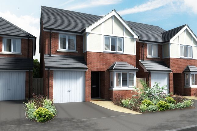 Thumbnail Detached house for sale in Hilltop, Breadsall, Derby