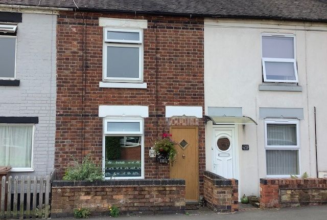 2 bed terraced house for sale in Hall Street, Church Gresley DE11