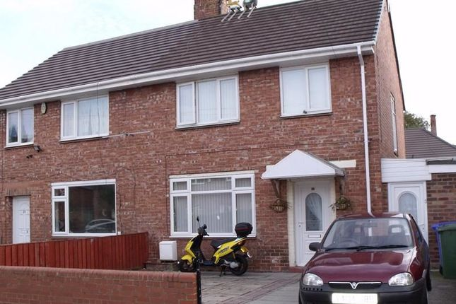 Thumbnail Semi-detached house to rent in Temple Avenue, Blyth