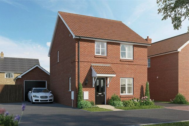Thumbnail Detached house for sale in The Hopwood, Meadow Croft, Houghton Conquest
