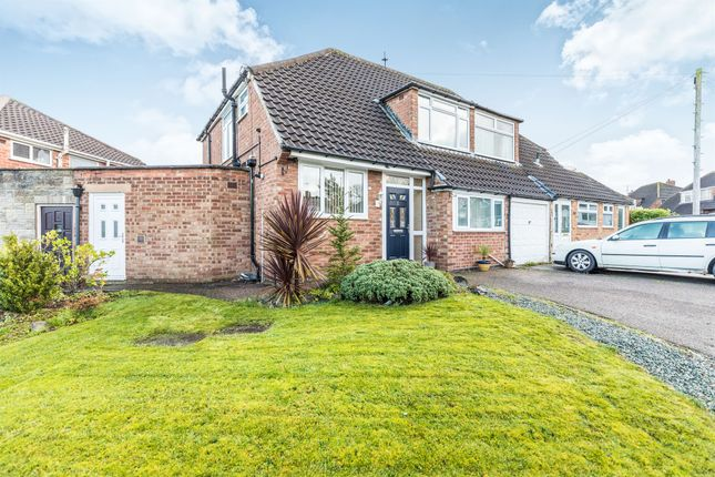 Thumbnail Semi-detached house for sale in Studley Croft, Solihull