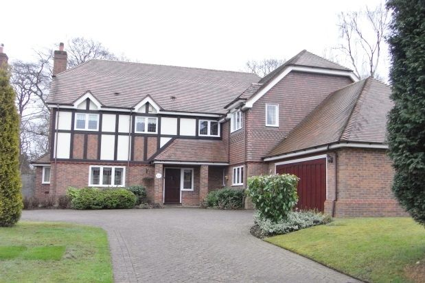 Thumbnail Detached house to rent in Sunningdale, Little Aston Park Road
