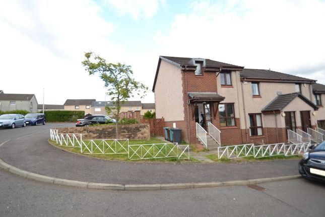Thumbnail End terrace house for sale in Rochsoles Crescent, Airdrie, Lanarkshire