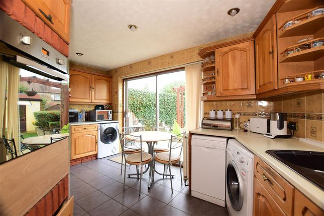 Thumbnail End terrace house for sale in Eccleston Crecent, Romford, Essex