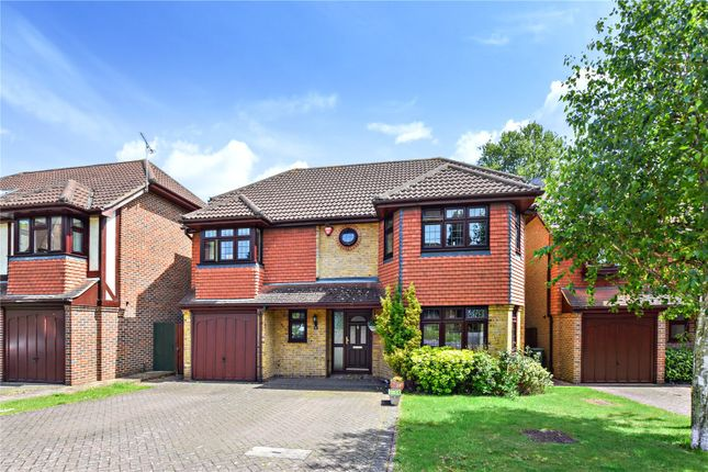 Thumbnail Detached house for sale in Chilham Close, Bexley Village, Kent