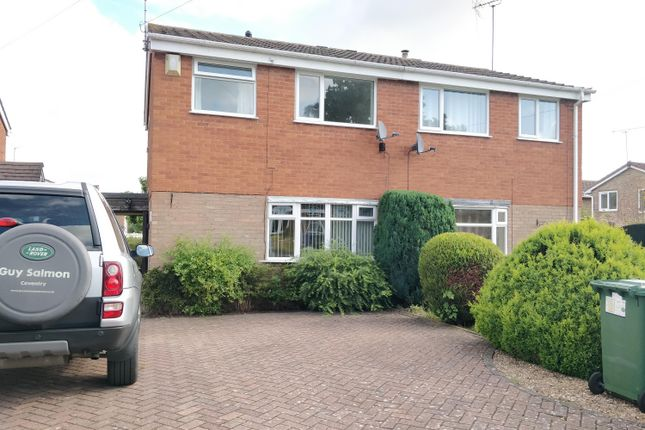 Thumbnail Semi-detached house to rent in Woodheyes Lawns, Rugeley