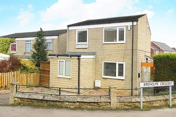 Thumbnail Property to rent in Birdholme Crescent, Chesterfield