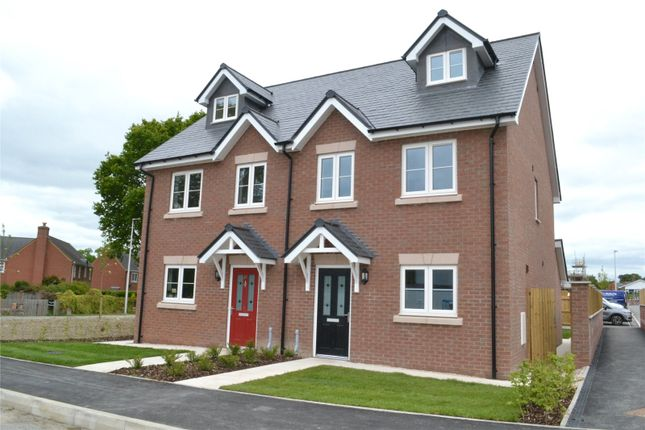 Thumbnail Semi-detached house for sale in Plot 8 Dolforgan View, Kerry, Newtown, Powys