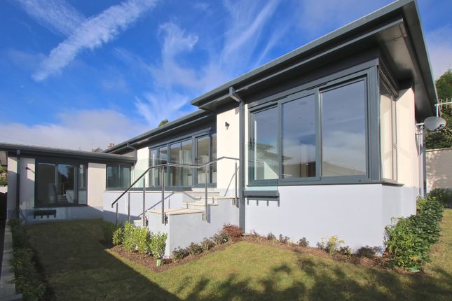 Thumbnail Detached bungalow for sale in Hill Road, Swanage