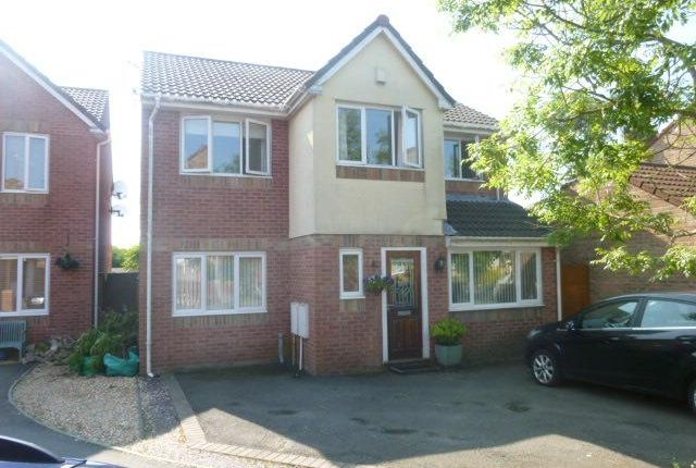 Thumbnail Detached house to rent in Blackberry Drive, Barry
