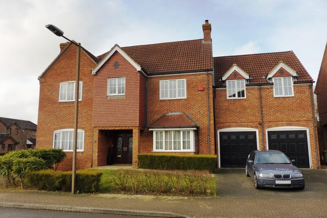 Thumbnail Detached house to rent in Clegg Square, Shenley Lodge, Milton Keynes