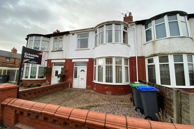 Thumbnail Terraced house to rent in Lyndhurst Avenue, Blackpool