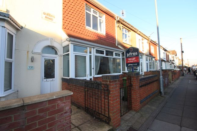 Thumbnail Terraced house to rent in Queens Road, Portsmouth