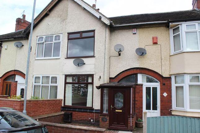 Front Elevation of Ashburton Street, Burslem, Stoke-On-Trent ST6