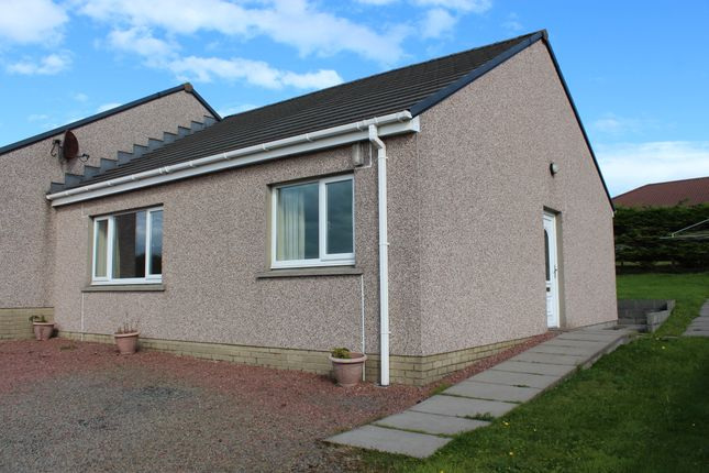 Thumbnail Semi-detached bungalow for sale in Scapa Crescent, Kirkwall, Orkney