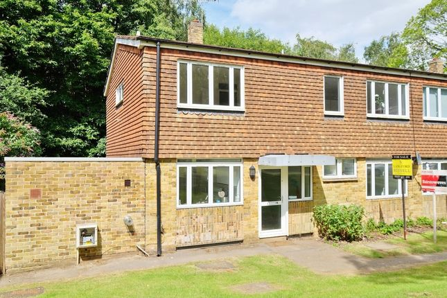 Thumbnail Semi-detached house for sale in Armstrong Close, Halstead, Sevenoaks