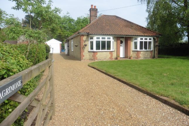 Thumbnail Detached bungalow for sale in Moor End Lane, Stibbard