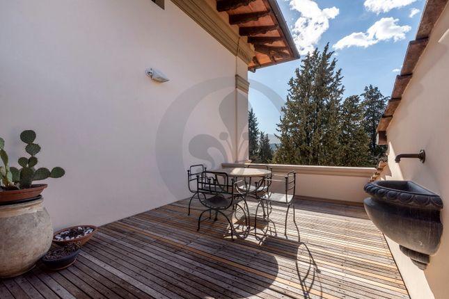 Terrace of Via Montalbano, Florence City, Florence, Tuscany, Italy