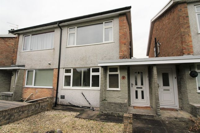 Thumbnail Semi-detached house to rent in Woodfield Park Crescent, Woodfieldside, Blackwood