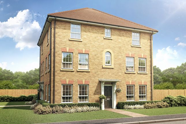 """Thumbnail End terrace house for sale in """"Brentford"""" at Mount Street, Barrowby Road, Grantham"""