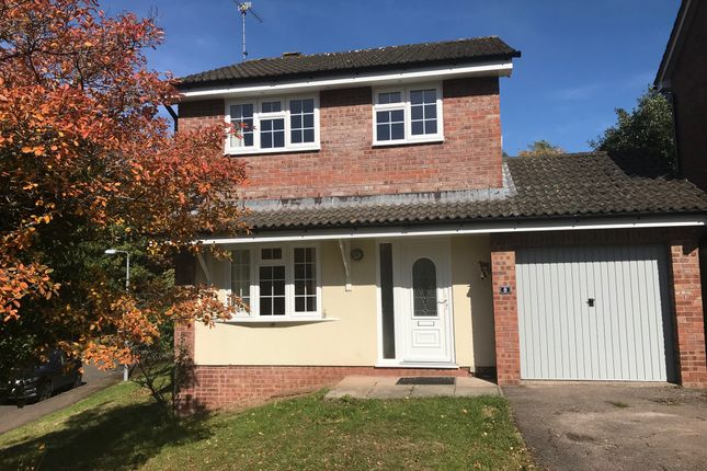 Thumbnail Detached house to rent in Hook Close, Osbaston, Monmouth