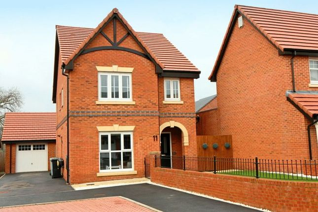 Thumbnail Detached house for sale in Russ Close, Scholar Green, Stoke-On-Trent