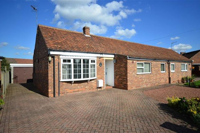 3 bed semi-detached bungalow for sale in Tune Street, Osgodby, Selby