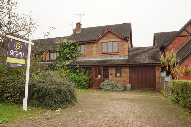 Thumbnail Detached house for sale in Oldacre Close, Sutton Coldfield